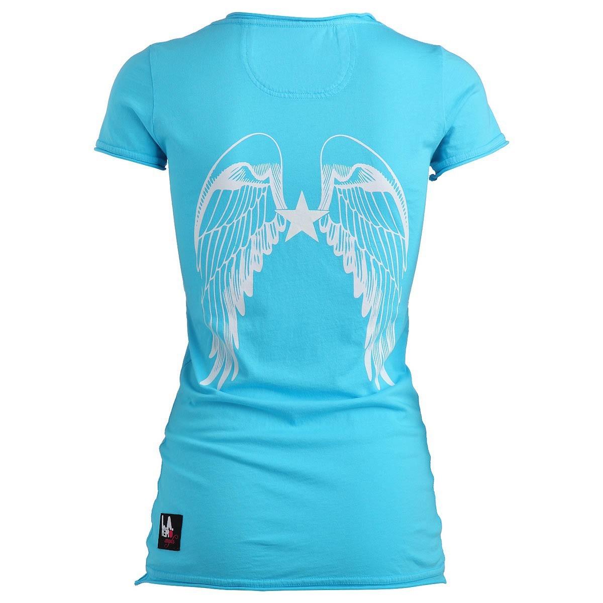 rockstars angels new logo t shirt t rkis damen women t shirts. Black Bedroom Furniture Sets. Home Design Ideas